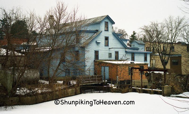La Valle Roller Mills, Sauk County, Wisconsin