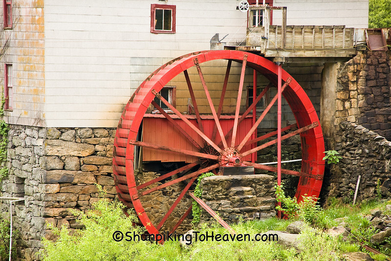 Old Mill of Guilford, Founded 1767, Guilford County, North Carolina