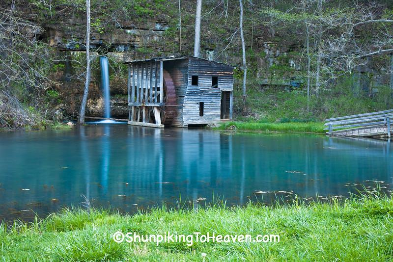 Falling Spring Mill, Oregon County, Missouri