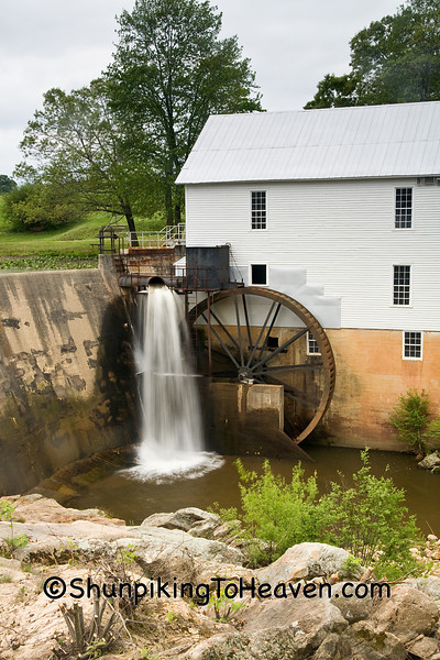 Murray's Mill, 1913, Catawba County, North Carolina