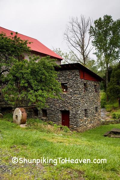 Mortar-Free Stone Addition to the Old Mill of Guilford, Guilford County, North Carolina