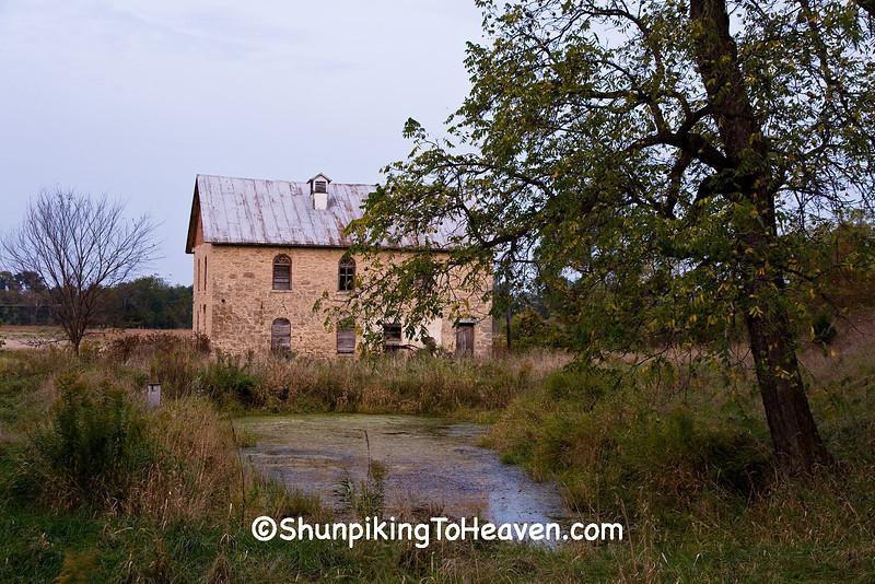 Oehler's Mill, Grist Mill Built in 1862, La Crosse County, Wisconsin