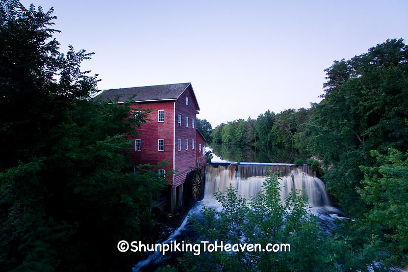 Dells Mill, Built 1864, Eau Claire County, Wisconsin
