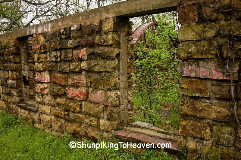The Cane Hill Mill Ruins, Washington County, Arkansas