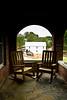 Murray's Mill from the Porch of the John Murray House, 1913, Catawba County, North Carolina