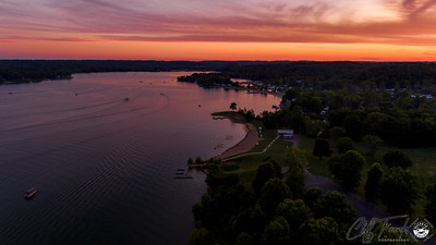 Atwood Lake Park Sunset 8-10-2019