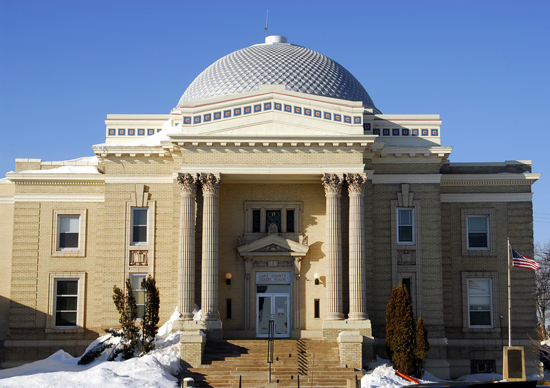 Lake County Courthouse - Two Harbors