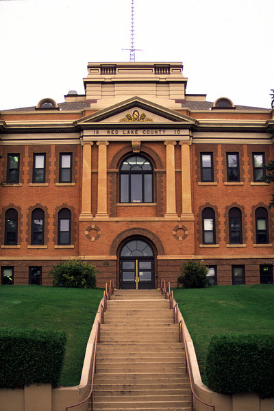 Red Lake County Courthouse (2) - Red Lake Falls