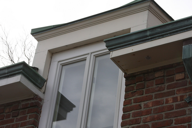 More soffits and window trim