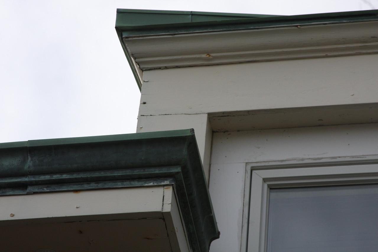 Facia crown and window trim roting
