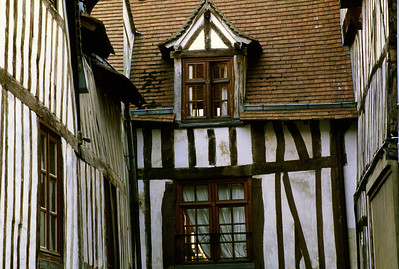 Half Timbered House's Courtyard