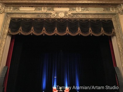 Commerce High's Nourse Theater proscenium