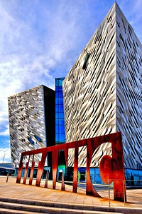 Titanic Building, Belfast. May 2018.