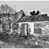 Derelict farmhouse at Struell Wells, near Downpatrick, County Down