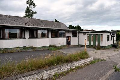 Slaney Inn, Raholp, County Down. Friday, 29th July 2016. Property closed.