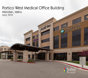 Portico West Medical Office Building Meridian Idaho Preliminary Edits