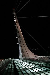Sun Dial Bridge, Redding, Ca