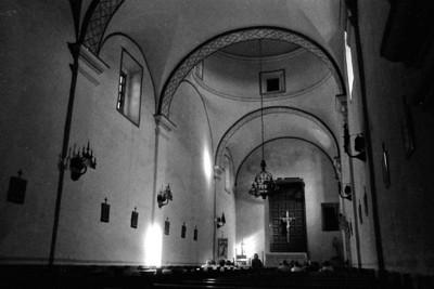 MISSION SAN JOSE INTERIOR San Antonio Missions NHP, San Antonio, Texas
