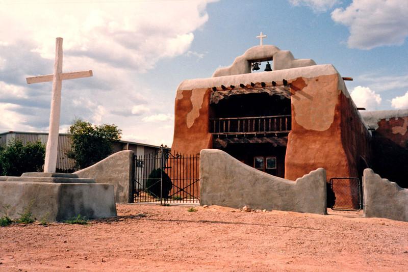 ST THOMAS THE APOSTLE CHURCH<br /> Abiquiu, New Mexico