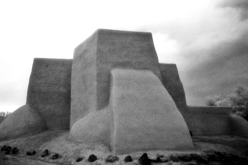 SAN FRANCISCO de ASIS MISSION CHURCH<br /> Rancho de Taos, New Mexico<br /> <br /> This is by far the most viewed, painted, and photographed aspect of this wonderful structure. Even Georgia O'Keeffe painted this view, or close to it. The abstract geometry is unbelievable.