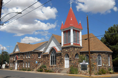 FIRST CHRISTIAN CHURCH Alpine, Texas