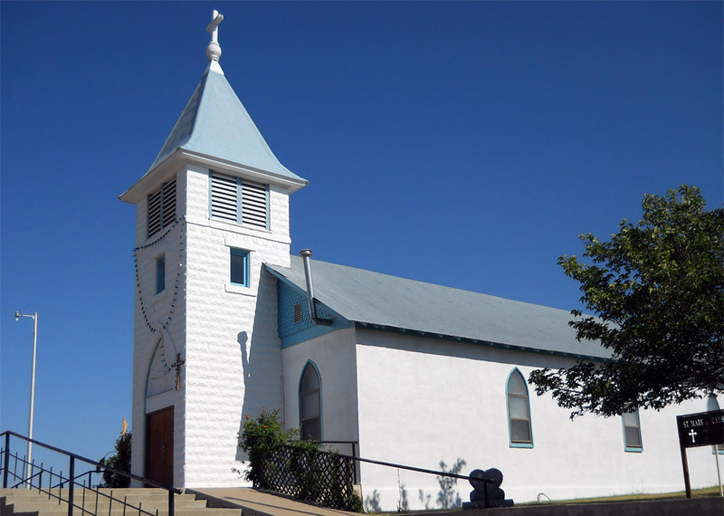 ST MARY CATHOLIC CHURCH<br /> Marathon, Texas