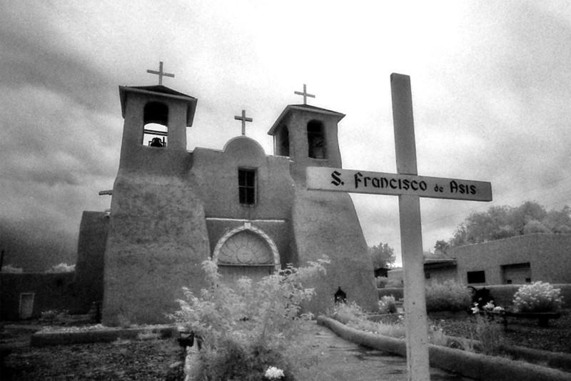 SAN FRANCISCO de ASIS MISSION CHURCH<br /> Rancho de Taos, New Mexico