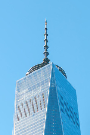 NEW YORK - Dec 26: scenery near World Trade Center in New York City  NY  USA aka ground zero