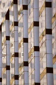 Checkered Modern Building