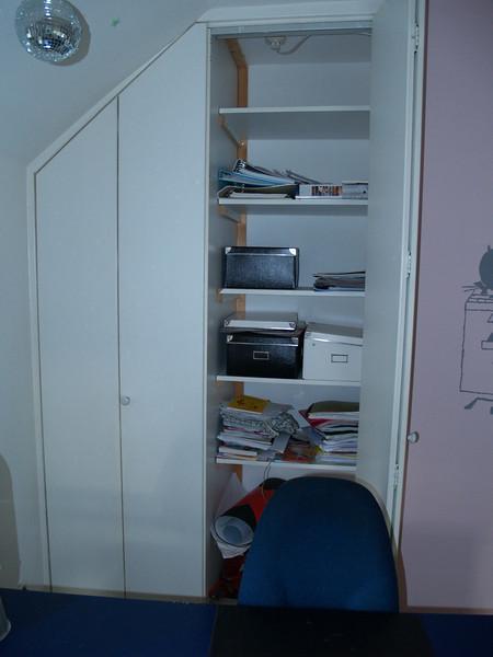 Slaapkamer 1 Muurkast