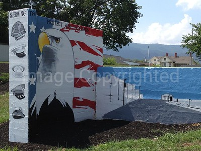 Memorial wall in Shenadoah VA 8/7/12