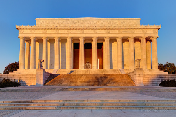 Early Morning at the Lincoln Memorial