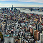 Above Manhattan