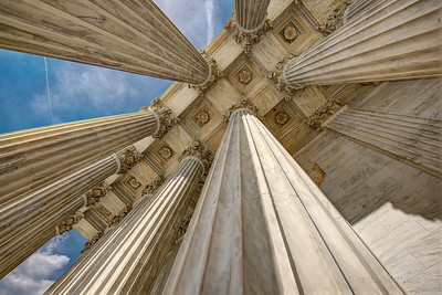 Supreme Court Columns [Color]