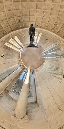 Jefferson Memorial Spherical Panorama