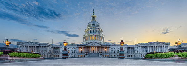 Capitol Building at Twilight