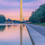 Sunrise at the Lincoln Memorial Reflecting Pool [V3]
