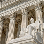Authority of Law Statue at the Supreme Court [V2] [Color]
