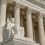 Contemplation of Justice Statue Supreme Court [V2] [Color]