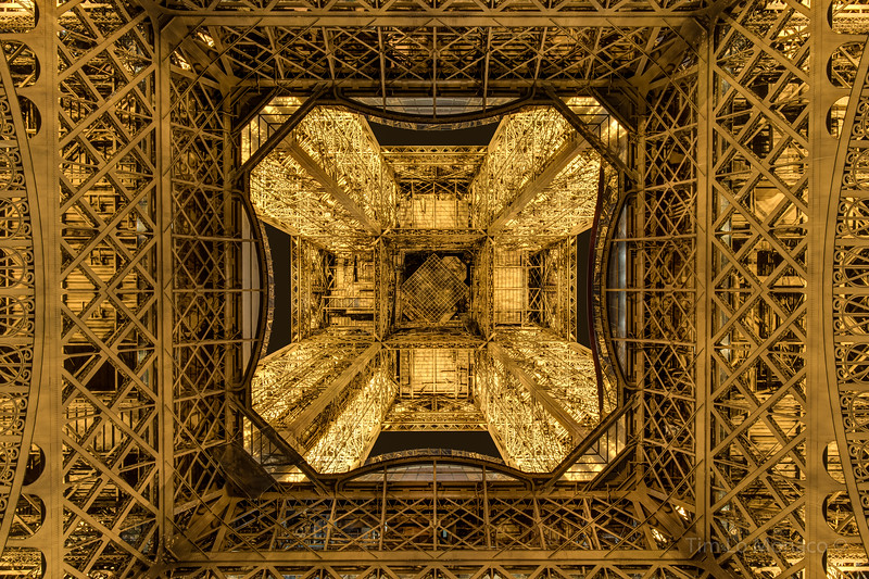 Eiffel Tower Underside [Color]