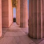Lincoln Memorial Winter Sunrise