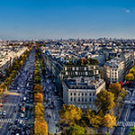 Paris Skyline from the Arc de Triomphe
