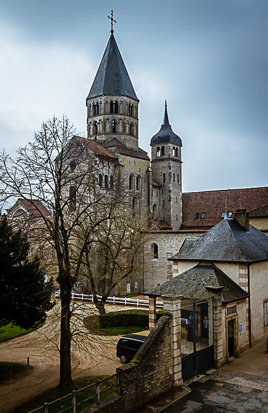 Abbaye de Cluny ( 10ème Siècle )