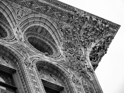 Guarantee Building - Cornice Detail, Buffalo, NY, Louis Sullivan Architect, photo 2013