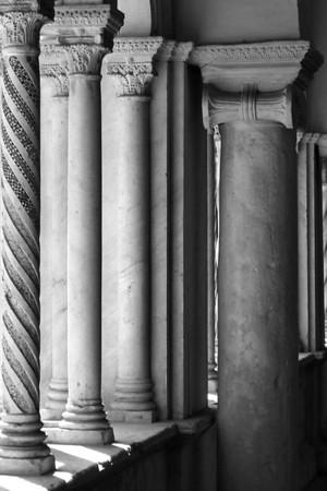 Cloister Columns, Pienza, Tuscany, 2007