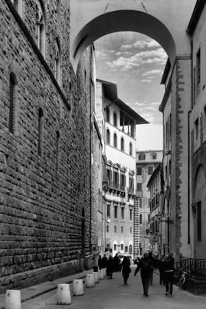 Florence, Italy, Street Scene, 2004