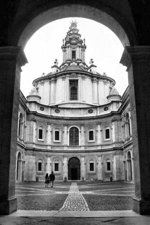 Sant'Ivo alla Sapienza, Rome, Francesco Borromini, 1642