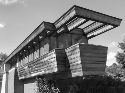 Private Residence Wing, Wingspread House, Racine, WI, Frank Lloyd Wright, 1939