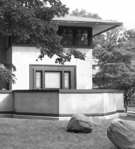 Wright-designed house in South Bend, Indiana