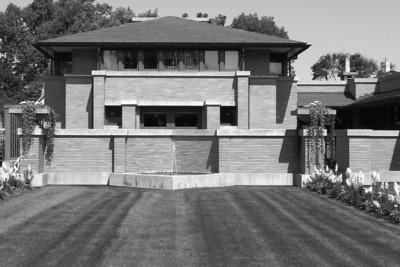 Darwin Martin House, Buffalo, New York, Frank Lloyd Wright, 1908